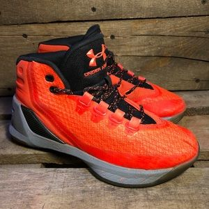 Under Armour Curry 3 Red Hot Basketball Shoes